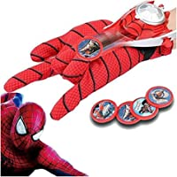 Vikas gift gallery Superhero Gloves with disc Launcher for Kids