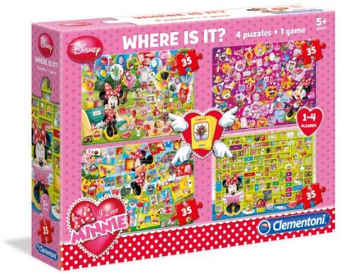 Clementoni - Puzzle Minnie Mouse de 192 Piezas (Importado)