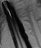 Schwarz Ice Crust Metallic Autofolie 100cm x 152cm Blasenfrei mit Luftkanäle car wrapping *GRATIS Montageanleitung 14,99€/1qm