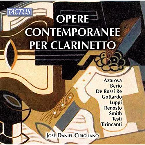 Opere contemporanee per clarinetto
