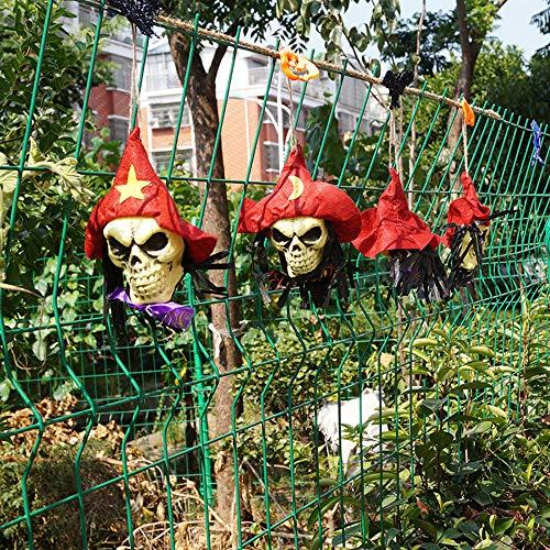 WSLTH Halloween / Heißer Verkauf / Dekoration / Lahua Flagge / Ghost Festival / Bar / Layout Shop atmosphäre / Lustige String / anhänger (Rot)