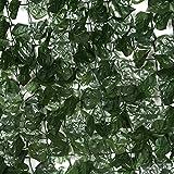 Künstliche Efeu-Blatt-Heckenrolle Datenschutz Bildschirm Gartenzaun 1m x 3m