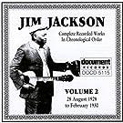 Jim Jackson Vol. 2 (1928-1930)