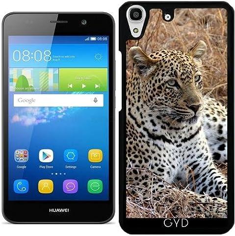 Hülle für Huawei Y6 / Y6 DUAL - Leopardkatze Tiger Und Löwe by WonderfulDreamPicture