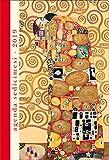 Agenda giornaliera sedici mesi 2018-2019 - cm 11x16.2 The hug Gustav Klimt