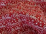UK Fabrics Online Stoffbahn, Polyester-Baumwollgewebe,