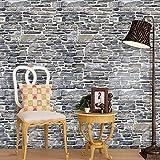 OSYARD Wandaufkleber Wandtattoo Wallsticker,Simulation Fliesensticker Fliesenaufkleber Klebefolie Fliesen Aufkleber Folie Sticker für Küche Bad Schlafzimmer Wohnzimmer Fliesen Wanddeko(100x30cm)