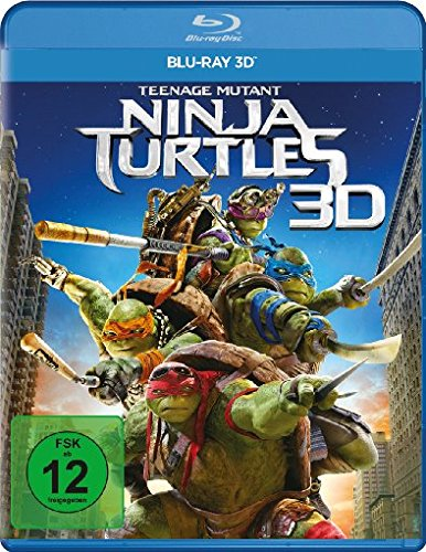 Teenage Mutant Ninja Turtles [3D Blu-ray]