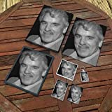DENNIS FARINA - Original Art Gift Set #js005 (Includes - A4 Canvas - A4 Print - Coaster - Fridge Magnet - Keyring - Mouse Mat - Sketch Card)