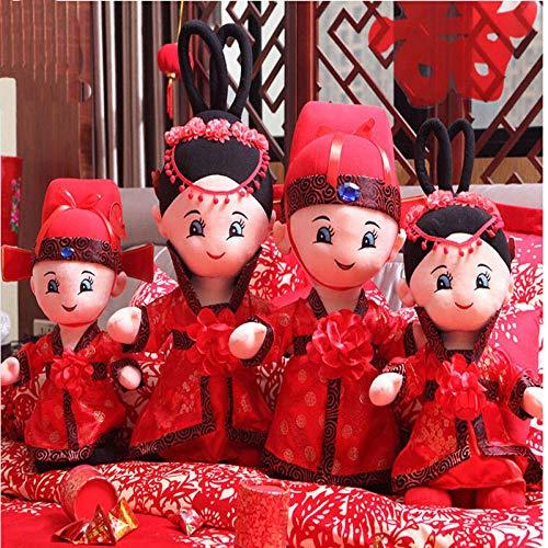 CPFYZH Un par de Juguetes de Peluche de muñeca Regalos de Boda Boda Tamaño: 52Cm @ 52Cm