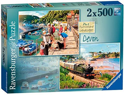 Ravensburger UK 35.720cm malerischen Landschaften Nummer 3Devon Lynmouth und Dartmouth Puzzle