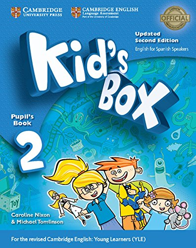 Kid's Box Level 2 Pupil's Book with My Home Booklet Updated English for Spanish Speakers Second Edition