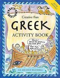 Greek Activity Book (Crafty History)