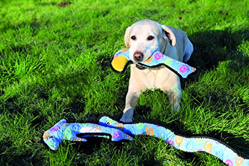 Rosewood-Rope-and-Squeak-Snake-Luxury-Plush-Character-Quality-Dog-Toy-69-cm