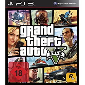 Grand Theft Auto V – Standard Edition [PlayStation 3]