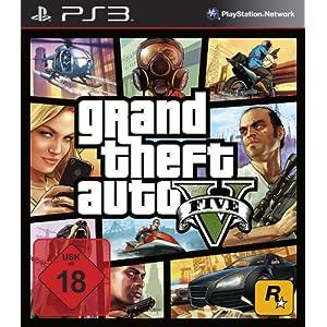 Grand Theft Auto V – Standard Edition [PlayStation 3]