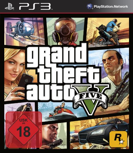 Grand Theft Auto V - [PlayStation 3] (6 Ps3 Gta Spiele)