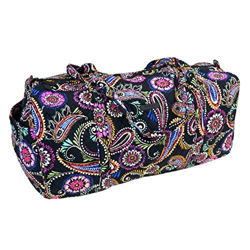 Vera Bradley Large Traveler Duffel Bag (Bandana Swirl) -