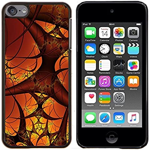 LECELL--Custodia protettiva / Copertura / Pelle For Apple iPod Touch 6 6th Touch6 -- Vasi sanguigni Micro Cosmo Arte del corpo umano --