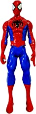 Generic Ultimate Spiderman Action Figure, 11-inch(Blue)