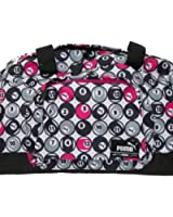 Puma Foundation Black-White-Gray-Pink Billiard Ball Pool Graphic Sports Bag