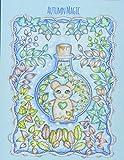 Autumn Magic: A beautiful fall coloring book