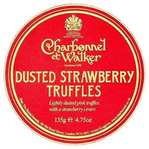 Charbonnel & Walker Erdbeer Trüffel - Packung mit 6