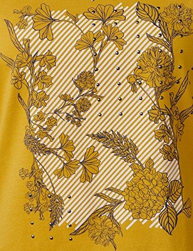 Cecil Damen Langarmshirt Gelb (Golden Lemonade 31197)