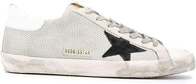 Golden Goose Luxury Fashion Uomo GMF00101F00031310271 Argento Pelle Sneakers | Primavera-Estate 21