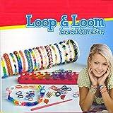 LOOP & LOOM Starterset - Starter Set mit 1.500 Loom Bänder Bands Bandz - 60 x S-Haken zum...
