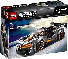 LEGO 75892 Speed Champions McLaren Senna Building Kit, Colourful