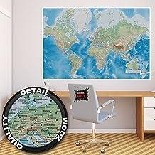 Poster Mappamondo – Decorazioni pareti Proiezione di