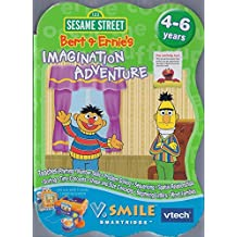 V.Smile & Pocket Vtech Smartridge Sesame Street Bert & Ernie's Imagination Adventure