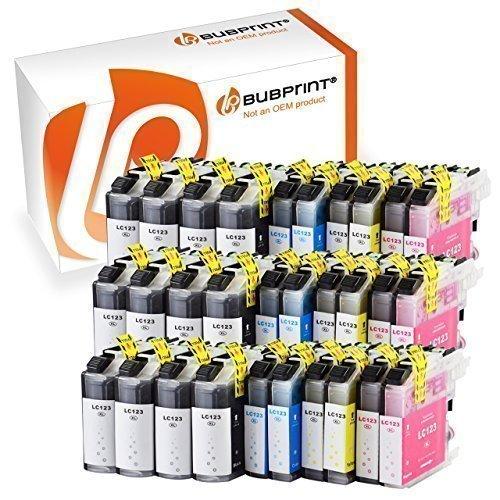 Preisvergleich Produktbild Bubprint 30 Druckerpatronen kompatibel für Brother LC-123 LC123 für DCP-J132W MFC-J4510DW MFC-J470DW MFC-J6520DW MFC-J6720DW MFC-J6920DW MFC-J870DW