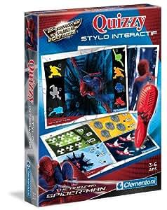 Clementoni - 62391.4 - Jeu de Société - Quizzy Spiderman