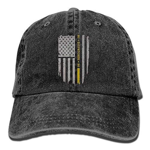 WefyL 911 Dispatcher Thin Gold Line Snapback Cotton Hat