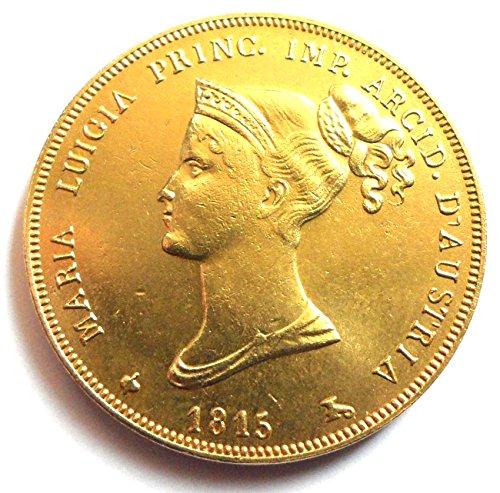 Preisvergleich Produktbild Münze 1815 Italien - 40 Lire Maria Luigia - Parma Italienische Staaten
