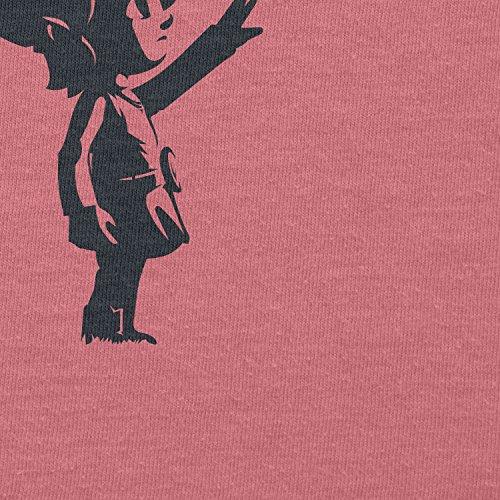 Texlab–Banksy Link–sacchetto di stoffa Pink