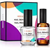 Modelones Professional Natural Nail Prep Dehydrate & Bond Primer, Nail Protein Bond, Superior Bonding Primer for Acrylic Powd