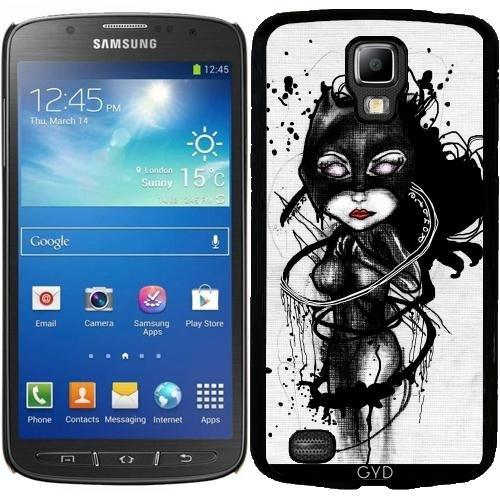 (DesignedByIndependentArtists Hülle für Samsung Galaxy S4 Active i9295 - Krallen Lynx by Rouble Rust)