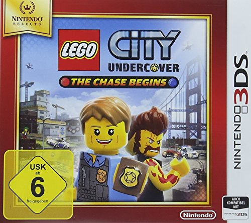 Lego City Undercover: The Chase Begins - Nintendo Selects - [3DS] (3ds-spiel Nintendo Minecraft)