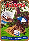 CDecor S Hamms Beer Blechschilder, Metall Poster, Retro
