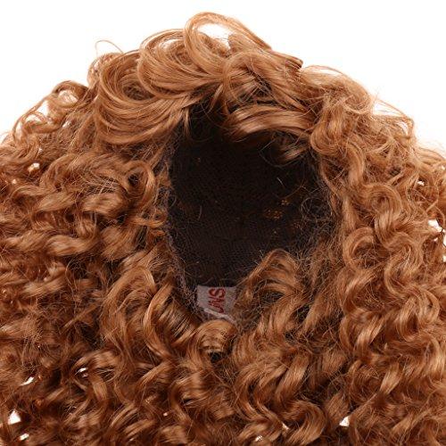 Sharplace Mode Lange Lockige Puppenperücke Für Puppen DIY Haarteil Machen und Reparatur - # ()