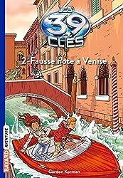 Les 39 clés, Tome 2 : Fausse note à Venise (French Edition)