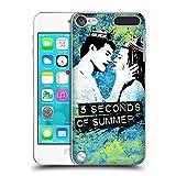 Head Case Designs Offizielle 5 Seconds of Summer Vapor Blau Farbenchaos Ruckseite Hülle für iPod Touch 5th Gen/6th Gen