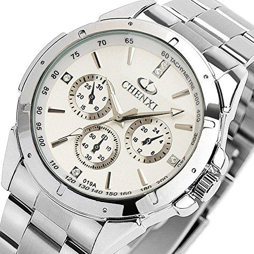 impermeabile-per-esterni-viki-al-quarzo-orologio-da-uomo-business-orologi-bianco
