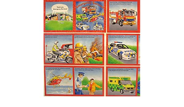 Nutex 100/% Cotton Fabric Emergency Book Panel