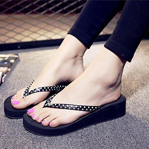 Estate Sandali Fondo piatto femminile con pantofole antisdrucciolo per la primavera e l'estate Colore / formato facoltativo 1005