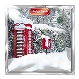 Medici tarjetas navideñas (MED4708) unidades Tarjetas 8 - promiscuo y buzón de correos - en ayuda de las siguientes donaciones: metrorragia cáncer cuidado, los Parkinsons, CLIC Sargent, Oxfam, botes, Macmillan