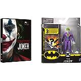 Joker (DVD) + Batman - Joker, Personaggio da 10 cm con 3 Accessori Misteriosi, dai 3 Anni - 6056747
